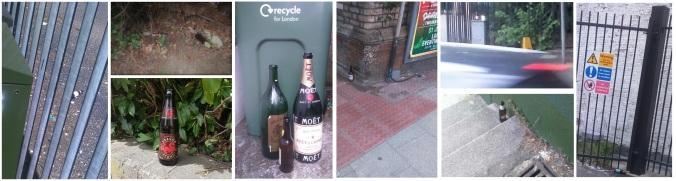 Stranded bottles
