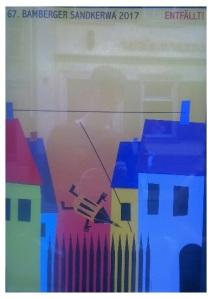 Bamberger Sandkerwa Abandoned Poster