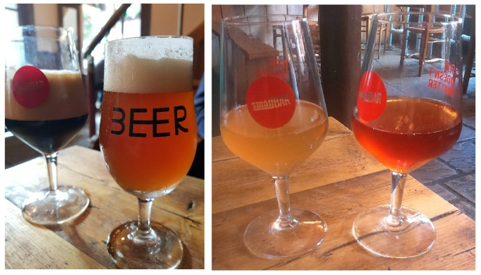 Sour Beers at smallBAR, Bristol